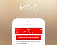 MOIC Mobile App