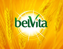 Web site oncept for Belvita