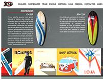 Lufi SurfBoards - Website Redesign