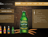 Saigon Beer official website