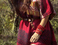 Andes dress huipil