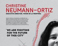 Milwaukeean Profile Poster: Christine Neumann-Ortiz