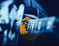 Music Cyanotype & Gum Bichromate mix