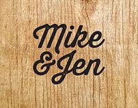 Mike & Jen.