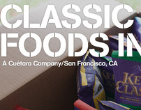 BRANDING, POS & PACKAGING DESIGN: Classic Foods Inc.