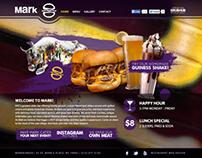 Mark Burger Parallax Website Design