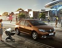 Renault Novo Logan - Print & Web ads