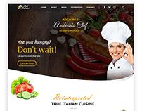 Restaurant Website UI/UX
