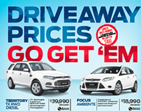 Knox Ford Driveaway Prices