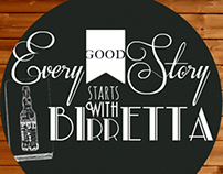 Every Good Story Starts Whit Birretta - Forst Brief