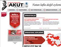 AKUT web design