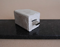 // concrete USB STICK