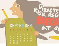 UNISDR Calendar 2014