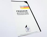 Scena Letnia w Łodzi - Repertuar - Repertoire Brochure
