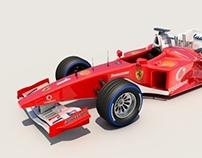 F1 Cinema 4D Modelling