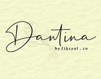 Free Font: Dantina