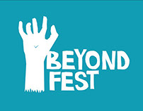 """Beyond Fest"" Festival Identity & Environmental Design"