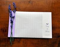 Lavender Wedding Invitation Design