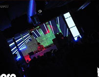 video///led mapping project @catania, sicily