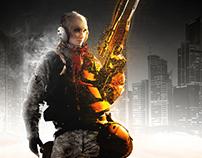 Battlefield 4 (Woman Soldier Concept)