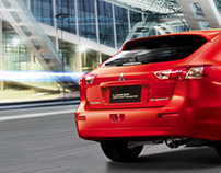 Mitsubishi Lancer Sportback Taiwan Official Website