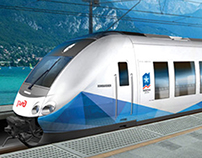 WINTER OLYMPIC TRAIN CONCEPT
