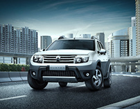 Renault Duster ads - Backgrounds