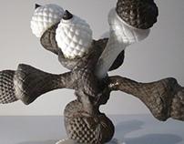 Untitled (Milkglass Cactus), 2013