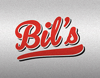 Bil's Diner branding & art direction