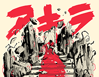 Akira X Screenprint