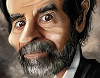 portrait Saddam