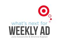Target Weekly Ad Intern Presentation