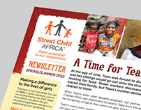 Street Child Africa Newsletter