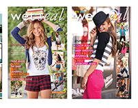 Wet Seal - Online and Marketing material