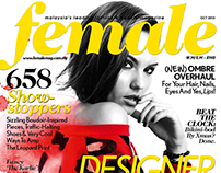 Female Magazine Cover Design