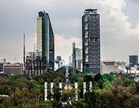 Vista de Paseo de la Reforma