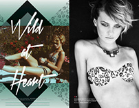 Graffiti Beach Magazine Wild at Heart lookbook