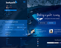 Online Yacht Booking Website