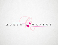 Queen's Makeup Logo Design