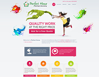 Perfect Home Website Design
