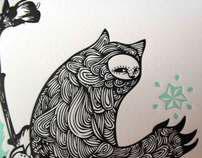 Ilustración Letterpress- GACZ
