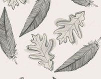 Feather and Leaf Pattern