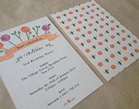 Garden Life - Invitation