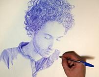 2012 - Drawing myself: drawing myself...