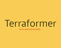 Terraformer typeface