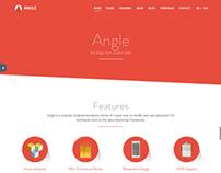 Angle - Flat - Bootstrap Theme