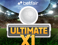 Betfair Ultimate 11 Social media viral game