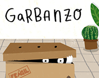 """Garbanzo"" álbum ilustrado"
