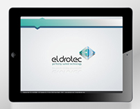 Eldrotec- Powerpoint template design
