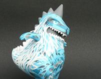 Tcon off Kanagawa - Custom Toyconosaurus